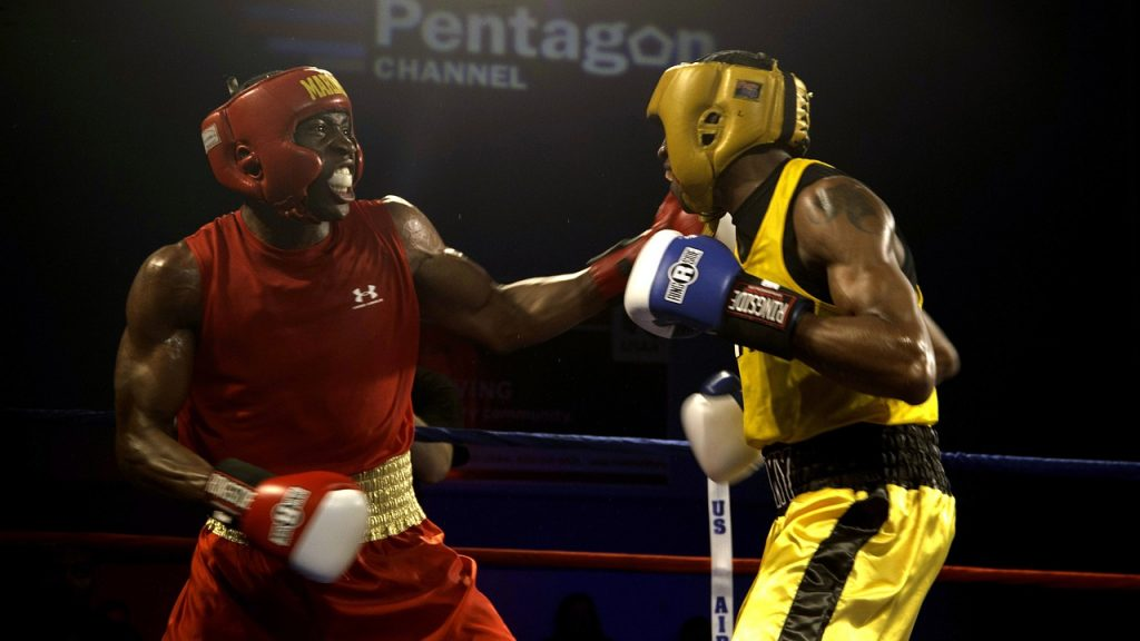 Boxing Headgear with nose guard